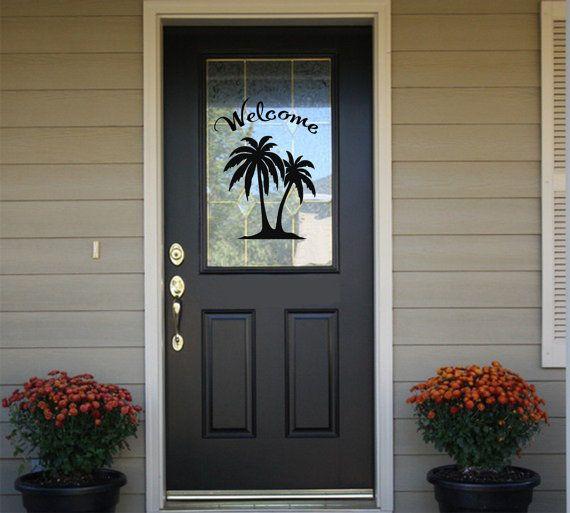 Best Door Decals Images On Pinterest Coloring Book Door - Custom exterior vinyl decals