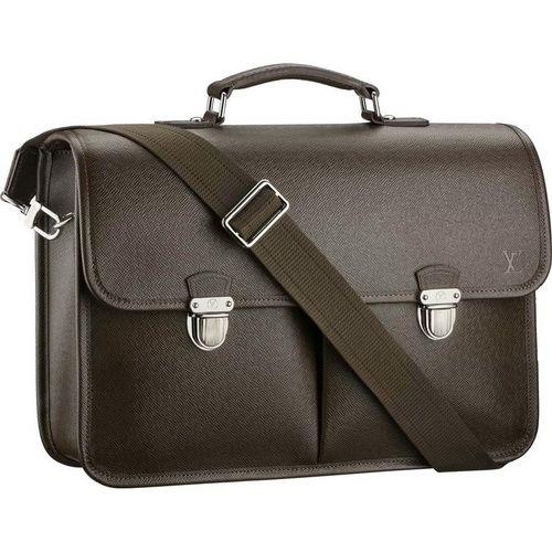 Louis Vuitton Taiga Leather Anton M32618 Bkd