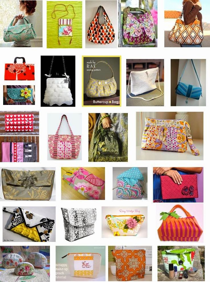 Quilt Inspiration: Free pattern day: purses, handbags and zipper bags