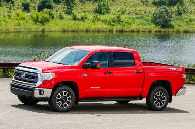 Toyota Tundra ditches V6 for 2015