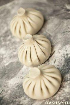 Хинкали (около 15 штук, время приготовления —1 час 20 минут)