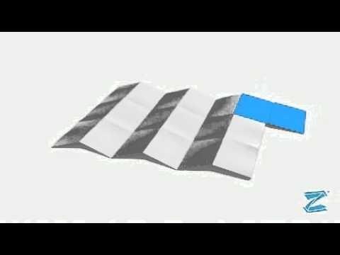 The Z-CARD® Book Fold
