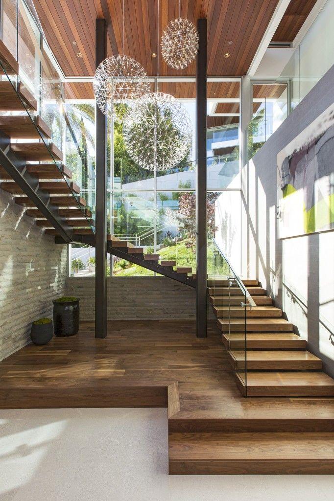 Escada Interna - #design #decor #Arquitetura #Elegância