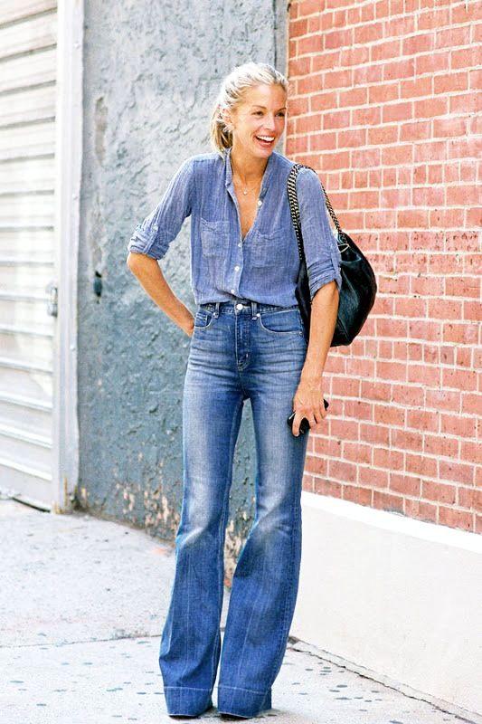Street Style: Steal Meredith Melling's Denim-On-Denim Look