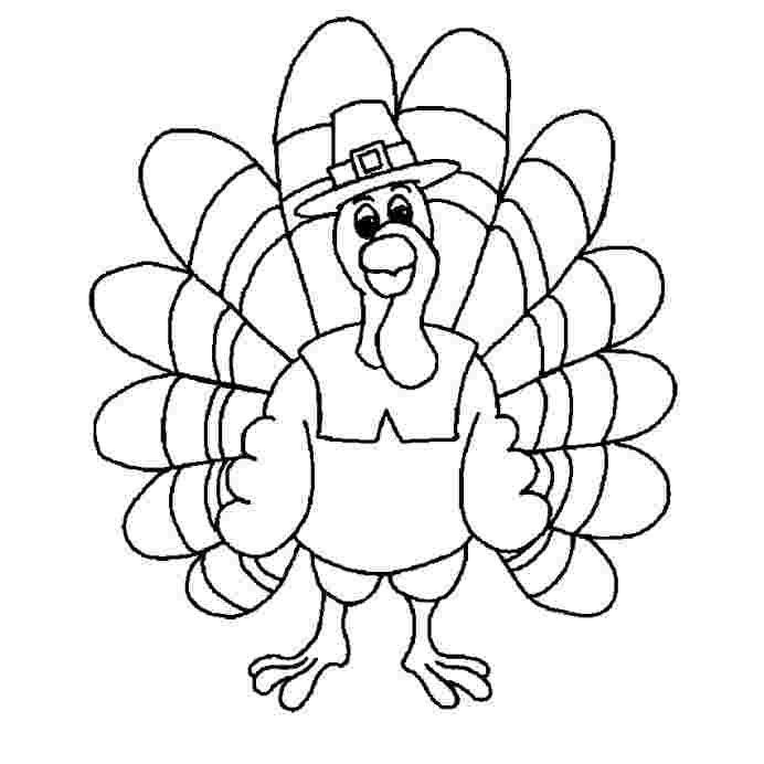 Turkey Head Coloring Sheet Tips