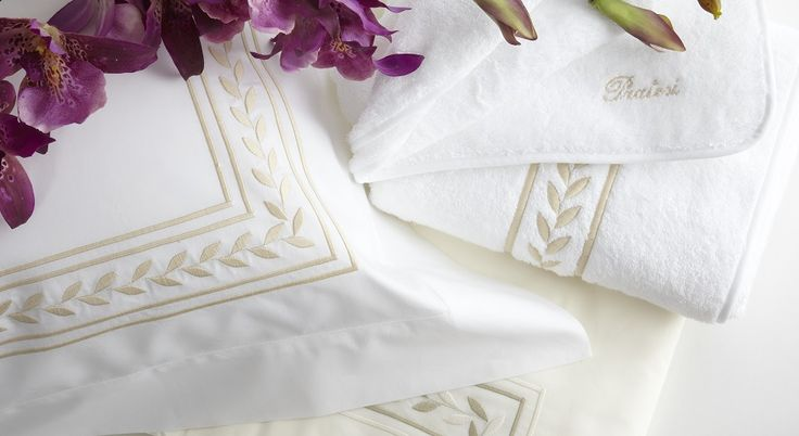 #Pratesi Impero bed linen and towel
