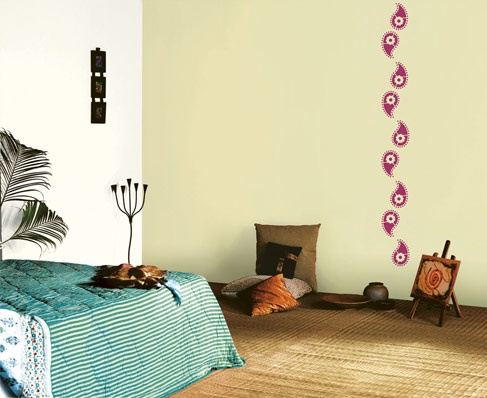 zari - Asian Paints Wall Design