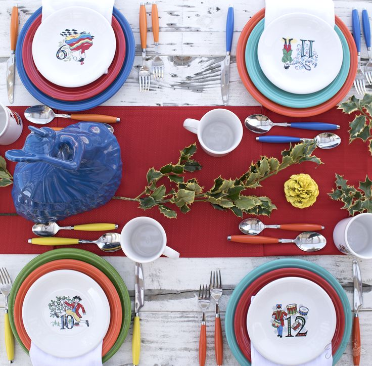 New for Christmas 2017 | Fiesta Dinnerware Always Festive  sc 1 st  Pinterest & 463 best Dishes: Fiesta images on Pinterest | Fiesta ware Homer ...