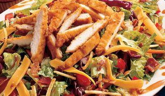 Salads w/ Crispy Chicken