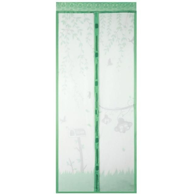 Automatic Closing Anti-Mosquito Magnetic Tulle Door Screen