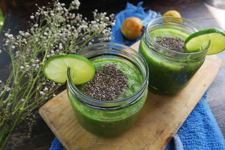 Diosa Verde (Green Goddess) Elixir Recipe - with spicy jalapeños, sweet pineapple, revitalizing aloe, and nutritious chaya.