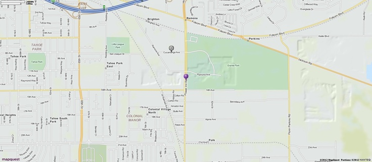 Driving, Walking and Traveling Directions from 10180 Indian Hill Rd, Newcastle, California 95658 | MapQuest