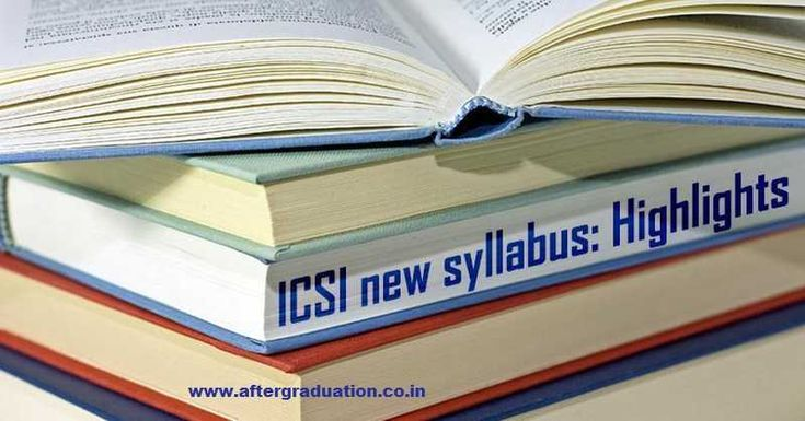 ICSI has introduced CS New syllabus for Executive and Professional Programmes. The first examination for CS Executive and CS Professional programme under CS new syllabus will be held in December 2018 and June 2019 respectively.