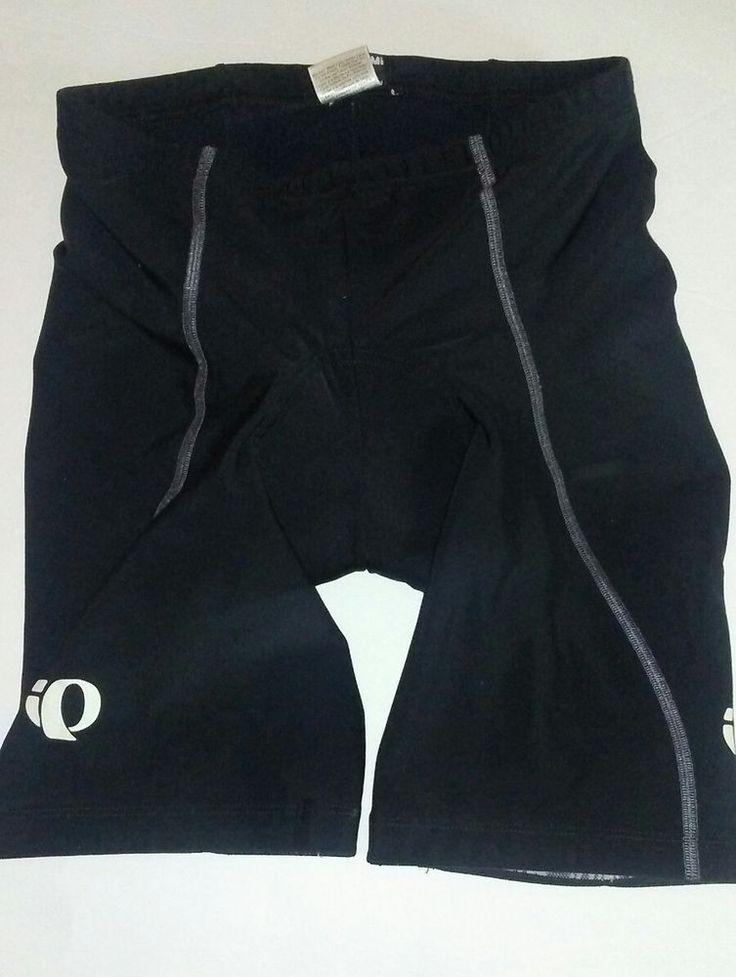 PEARL iZUMi men's padded cycling shorts black stretchy size L  #PearlIzumi #LycraCyclingShorts
