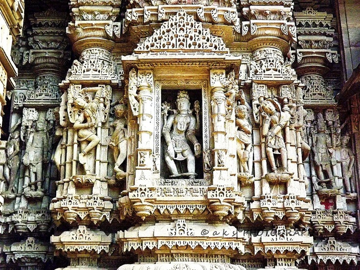Hatheesing Jain temple in Ahemdabad, Gujarat India