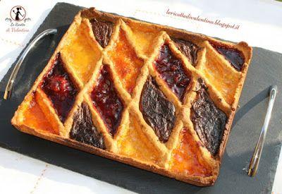 Le Ricette di Valentina: Crostata Arlecchino per la festa di Martedì grasso...