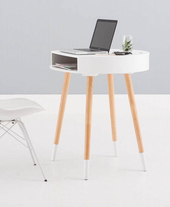 Tafeltje Fancy is ideaal als bijzettafel & bureau in één! - Goossens wonen & slapen