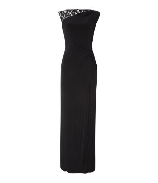 classic black dress - chic