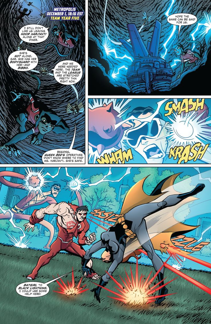 Young Justice (2011) Issue #24 - Read Young Justice (2011) Issue #24 comic online in high quality