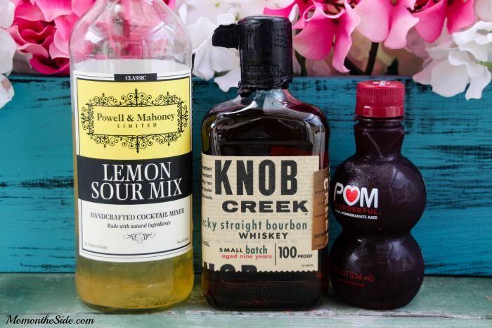 Thirsty Thursday: Bourbon Pomegranate Sour