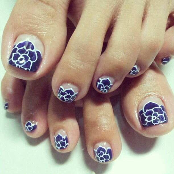 Cleared asian french tip toenail pictures 8054 the incorrect