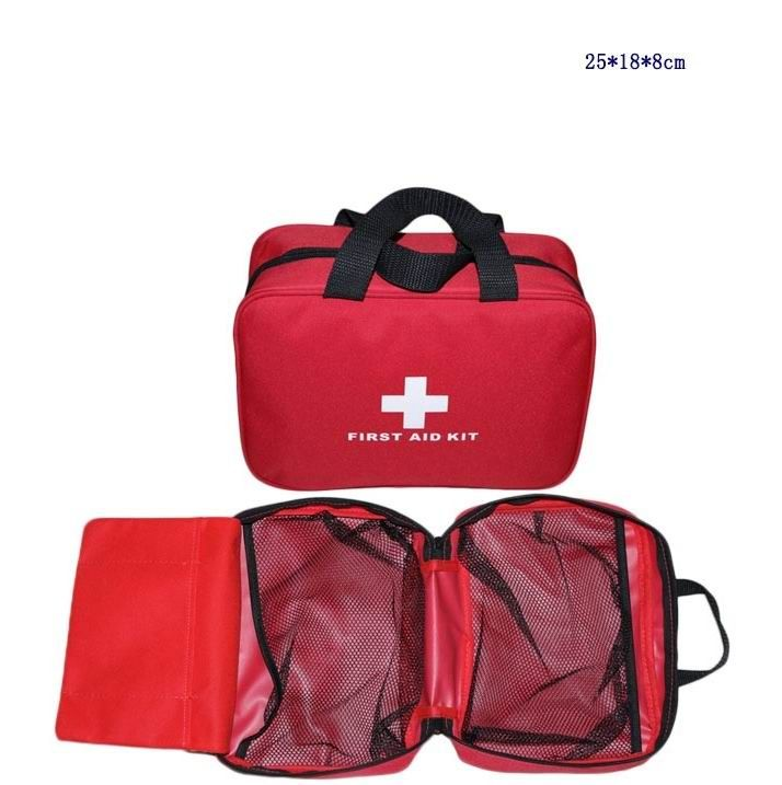 Empty Bag for  Emergency Kits Safe  Survival Travel First Aid Kit Outdoor Wilderness Camping Hiking Medical Pack Set
