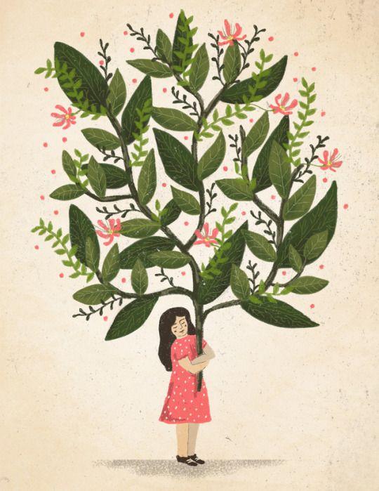 I love plants by Daniela William