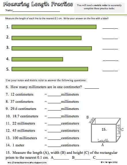 All Worksheets » Physical Science Measurement Worksheets ...