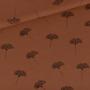 Cherry Imprimé Coton Viscose Robe en Jersey Tissu 150 cm