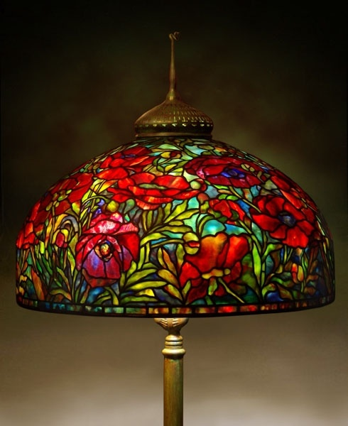 Tiffany Stained Glass Lamp