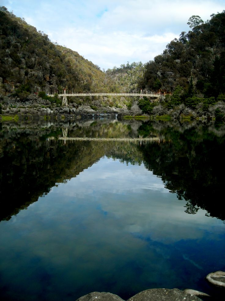 The beautiful Cataract Gorge, Launceston - Tasmania. The swimming hole of my youth :)