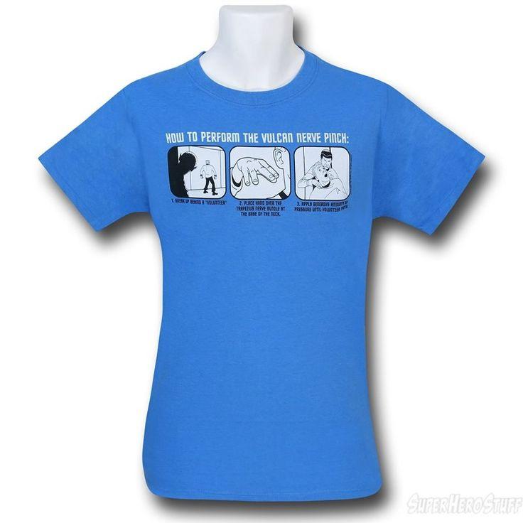 Star Trek Vulcan Nerve Pinch T-Shirt