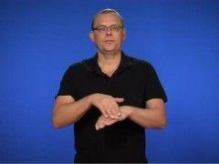 Vantar - Teckenspråk