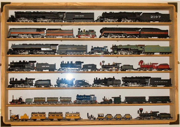how to display model trains   MALCSCABINETS, A GOOD SELECTION OF PICTURE HOOKS/HANGERS DOOR STOPS ...