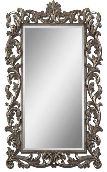 Uttermost Molise Large Silver Mirror - 12824