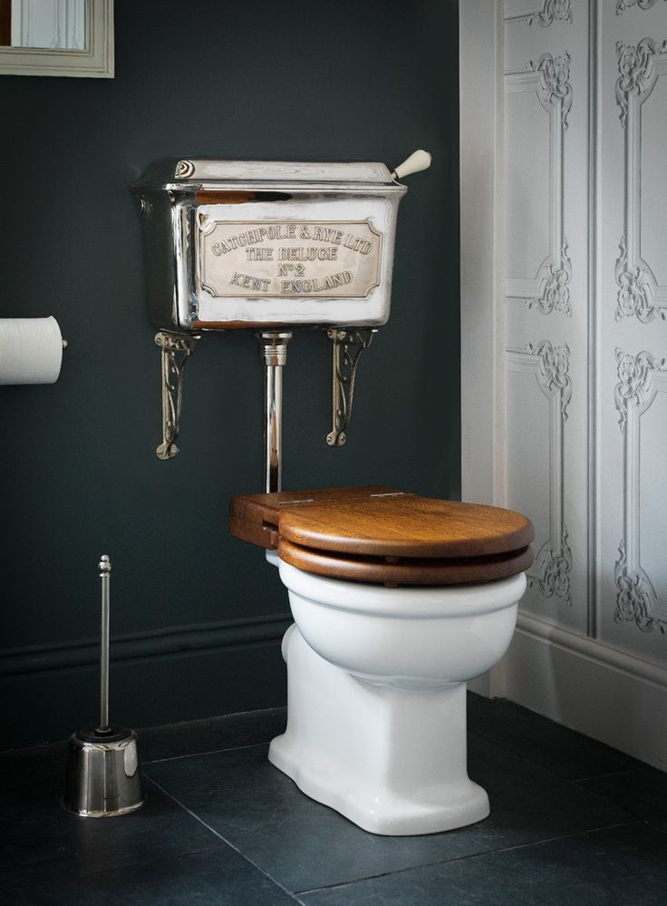 Low Level Cistern Ensemble in Low Level Cast Cisterns | Buy Online at Catchpole & Rye