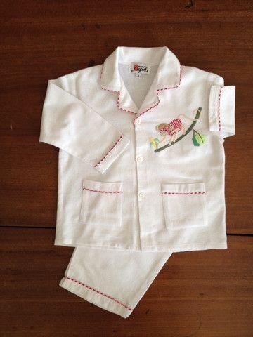 Red Monkey Flannelette Pyjamas – Minor Byrd