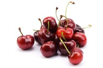 100 calories - low fat and full of vitamins, cherries also take a while to eat as you have to avoid the stones, so your morning snack lasts ages.