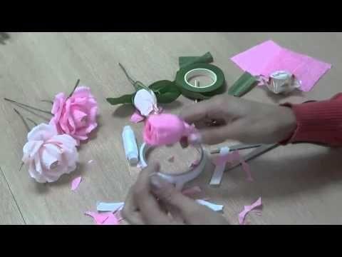 Розы, фунтики - YouTube