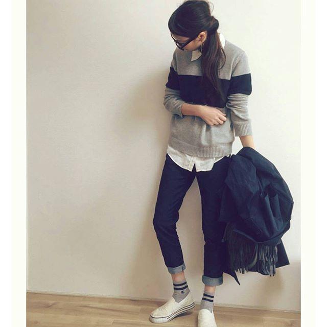 snapmeePick up snap! #スナップミー #snapmeejapan * ✨Thank you @eemiri ✨ * Spring casual outfit * プチプラとは思えないオシャレな春のカジュアルルック * ニット…#UNIQLO パンツ…#GU ソックス…#しまむら スニーカー…楽天 #トレンチコート …GU * #今日のコーデ #fashion #ootd #ママコーデ #ママ #カジュアルコーデ #コーディネート #アラサー #プチプラ #プチプラコーデ #アラサーコーデ #ママファッション #gu #デニム #スニーカーコーデ #uniqlo #uniqloginza #casualfashion #style #instalike