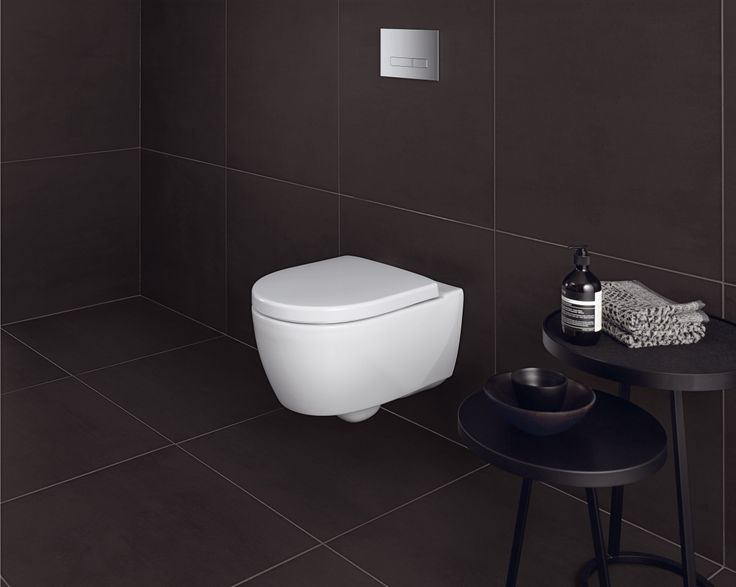 wc suspendu en c ramique sanitaire sans rebord de rin age de la collection icon http www. Black Bedroom Furniture Sets. Home Design Ideas