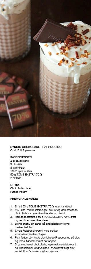 Syndig Chokolade Frappoccino