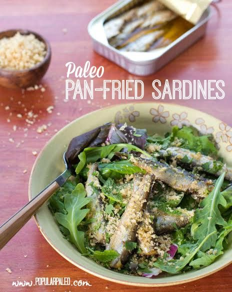 Sardine recipe for people who think they don't like sardines! Paleo-friendly and #AIP compliant. | www.PopularPaleo.com #paleo #paleorecipes