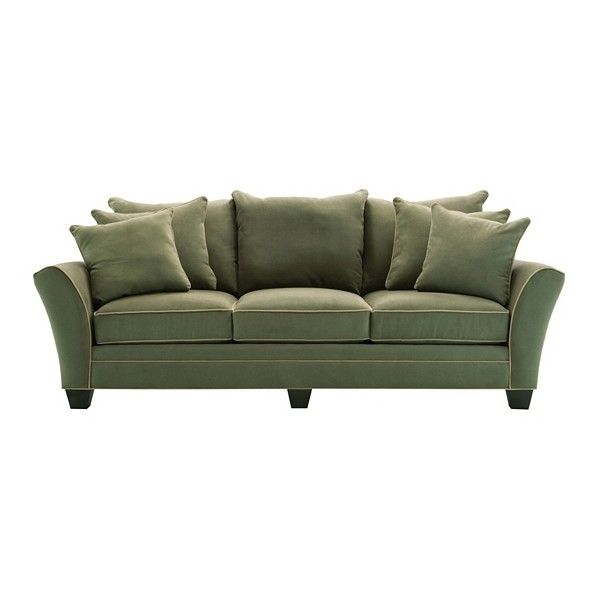 Briarwood Microfiber Sofa (€905) ❤ liked on Polyvore featuring home, furniture, sofas, microfiber sofa, microfiber furniture, micro fiber furniture, micro fiber couch and microfiber couch