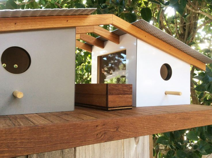 Sourgrassbuilt, a California home decor company owned by Douglas Barnhard, designs enchanting birdhouses inspired by famous architecture around the world.