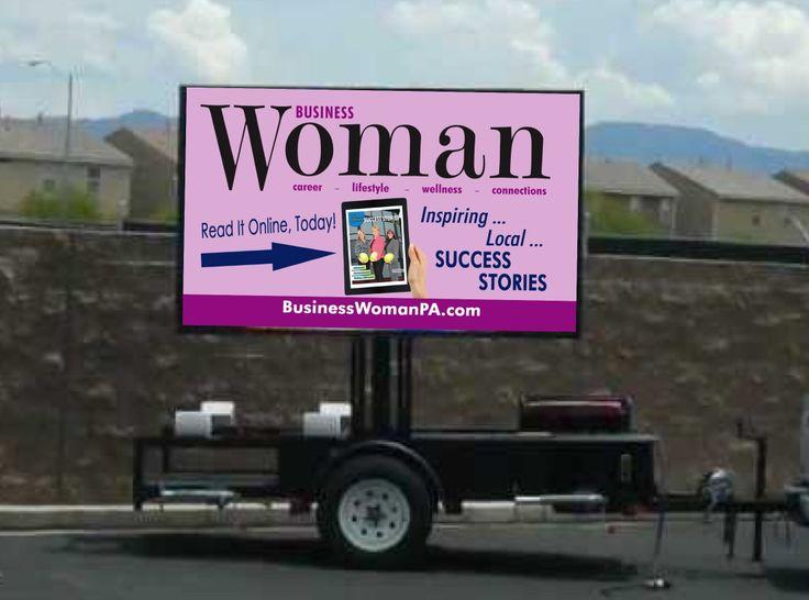 7' LED billboard