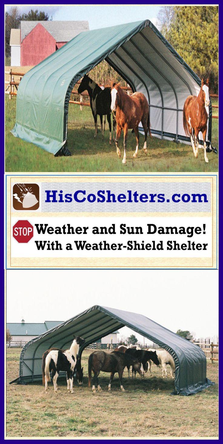 Best Horse Shelter : Best portable garage carport shelter accessories images