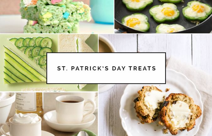 Irish-Inspired Treats and Decor to Help You Celebrate St Patrick's Day.