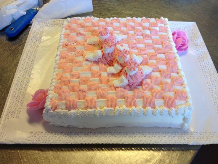 Una torta per un battesimo