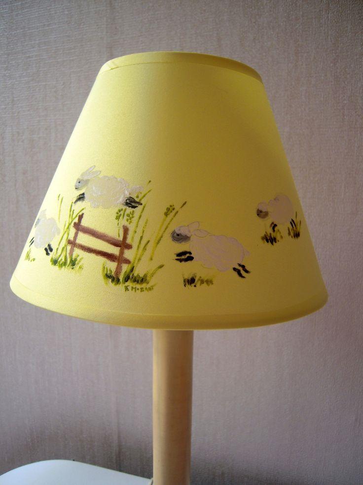 17 meilleures id es propos de abat jour jaune sur pinterest abat jour de chevron lampe Abat jour chambre enfant